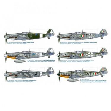 Italeri Super Decals BF109 G-6 Italian Aces 1/48 IT2719