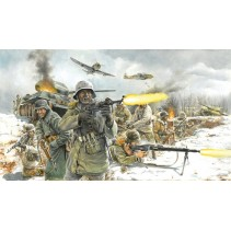 Italeri WWII German Infantry Winter Uniform 1/72 6151