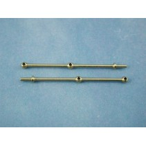 2 Hole Stanchion Brass 35mm (10) J-RMA66235