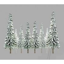 "JTT Snow Pine 2""-4"" N Scale JTT92006"
