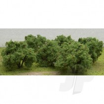 "JTT Apple Tree Grove 2""- 2.25"" Tall (6) HO Scale JTT92122"