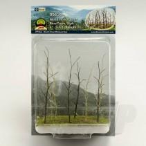 JTT Woods Edge Trees Bare Green O Scale JTT95630