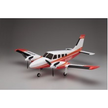 Kyosho K.10961R Airium Piper PA34 VE29 Twin PIP Set Red