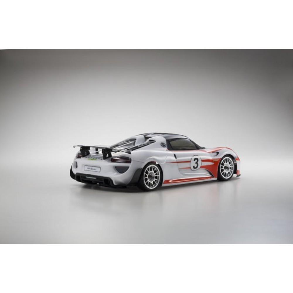 cars electric kyosho fazer ve readyset porsche 918 spyder weissac. Black Bedroom Furniture Sets. Home Design Ideas