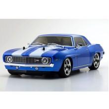 Kyosho FW06 1969 Chevy Camaro Z28 1/10 RC Nitro RS w/KE15SP - Blue K.33213B
