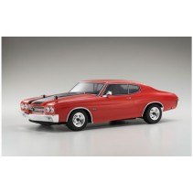 Kyosho Fazer VEi Chevy Chevelle SS 454 LS6 1970 CRANBERRY RED  RTR K.34053T1