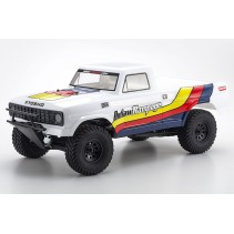Kyosho Outlaw Rampage 1/10 EP 2WD White Truck K.34361T1B