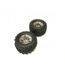 Kyosho K.MATH051 Truck Tyres on Madforce Kruiser Wheels (2)