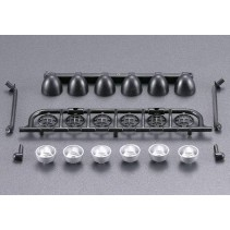 KillerBody Light Bridge Set for Roof (1/10 SCT) KB48045 Schumacher