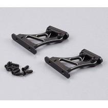 Killerbody Rear Wing Mount 1/10 High (CNC Aluminium) KB48111MBK