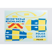 Killerbody Police (for 1/10) Decal Sheet KB48127