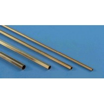 8272 1/8 Hexagonal Brass Tube 12in (1)