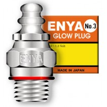 Enya L-Ep3 No.3 glow Plug (Std) Hot