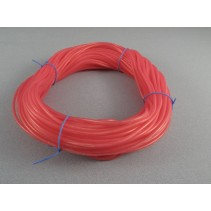 2.38mm ID x 5.50mm OD Red Silicone Tube L-LST02R