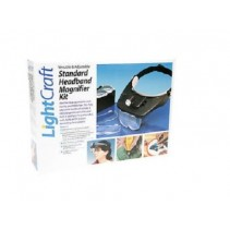Lightcraft LED Headband Magnifier 4 Lenses and Light LC1764