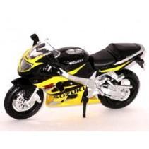 Maisto Suzuki GSX R600 - 1:18 Diecast Motorcycle