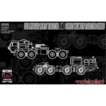Modelcollect USA M983A2 Hemtt Tractor/Soviet and Soviet MAZ 7410 Tractor Combo