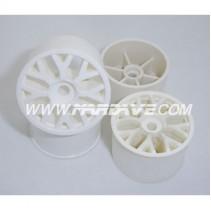 Mardave V55 V12 Multi Spoke Wheels White