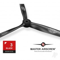 Master Airscrew 3 Blade 7x4in Propeller MAS3B07X40N01