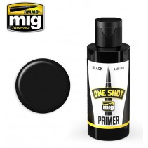 Ammo by Mig 60ml Black One Shot Primer MIG2023