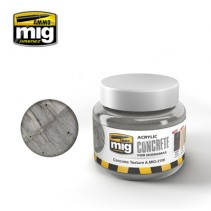 MIG CONCRETE TEXTURE ACRYLIC 250ML MIG2108