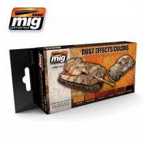 Mig Rust Effects Colour Set MIG7106
