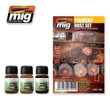 MiG Pigment Rust Set Super Fine Pigments MiG7400