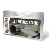 MIG Jet Engines Colours and Weathering Set MIG7445