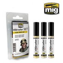 Mig 7500 Flesh Tones Oilbrusher Set
