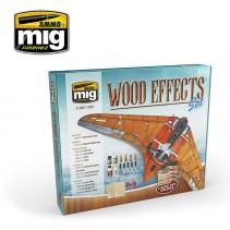 MIG Wood Effects Set MIG7801