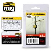 MIG RIGGING MEDIUM FINE 0.03mm MIG8018