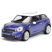 Welly Mini Cooper S Paceman Blue 1/24 Diecast