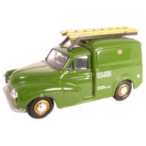 Post Office Morris Minor Van 1:76 Diecast
