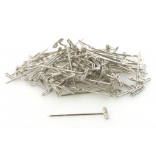 Dubro 1.25inch (31.7mm Nickel Plated T-Pins approx 100 T-DB253