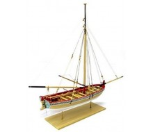 Model Shipways Long Boat 18th Century MS1457
