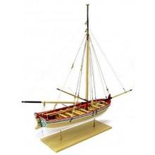 Model Shipways Long Boat 18th Century MS1457