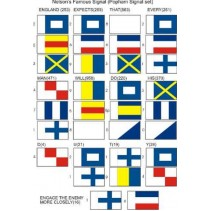 BECC Nelson Signal Set AA - 15mm Fabric Flags