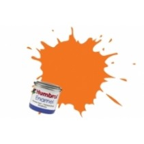 Humbrol Enamel No 18 Orange - Gloss - Tinlet (14ml)