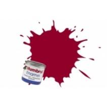 Humbrol Enamel No 20 Crimson - Gloss - Tinlet (14ml)