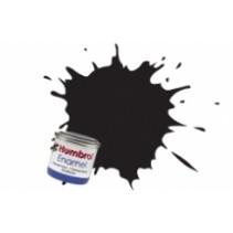 Humbrol Enamel No 21 Black - Gloss - Tinlet (14ml)