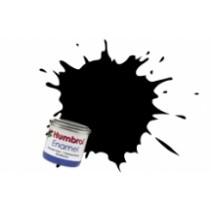 Humbrol Enamel No 33 Black - Matt - Tinlet (14ml)