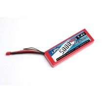 Kyosho nVision NVO1111 7.4v Sport LiPo 5000 45C (Deans)