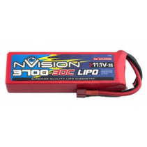 Kyosho Nvision LiPo 3S 3S-11.1V- 3700-30C Deans NVO1813/1