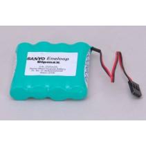 Eneloop 4.8v 2000mAh Rx Pk Flat O-4EN2000AASF Battery