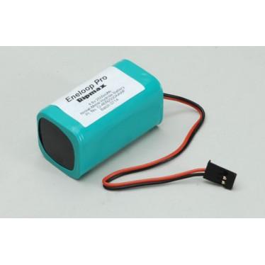 4.8v 2500mAh Eneloop Rx Pack Square O-4EN2500AAWF Battery