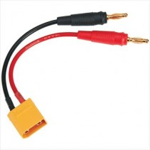 Duratrax Charge Lead Banana Plugs to XT90 O-DTXC2224