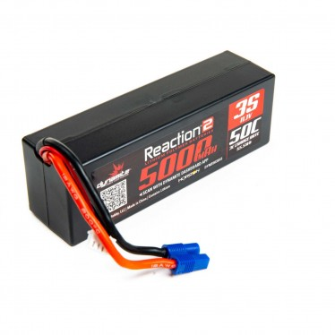Dynamite 11.1V 5000mAh 3S 50C LiPo, Hardcase: EC3 O-DYNB5035H3