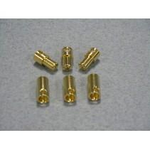 Castle 5.5mm Bullet Connectors O-GC05CC