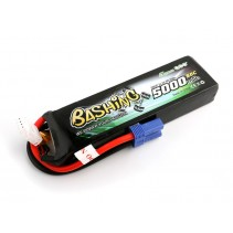 Gensace LiPo Car Battery 3S 11.1V 5000mAh 50C BASHING with EC5 GC3S5000-50E5