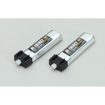 Hi-Energy 1S 130mAh 30C (2) LiPo Battery HE1S1P013030A